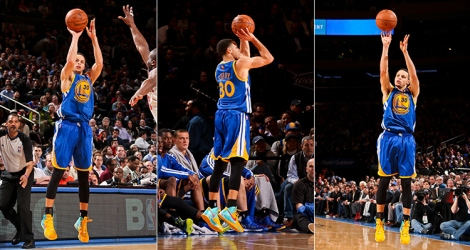 Steph Curry can shoot it from anywhere.