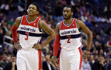Bradley Beal (Left) and John Wall (Right) are the present and future in Washington.