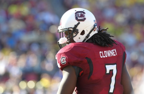 Clowney has his mind set on the NFL.