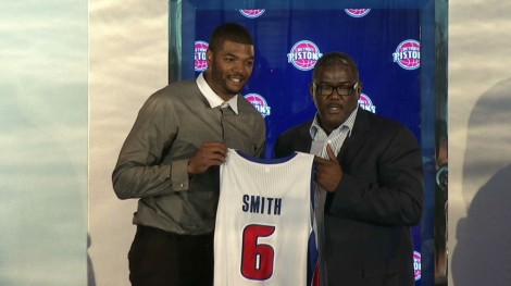 Josh Smith joins an already formidable front-court.