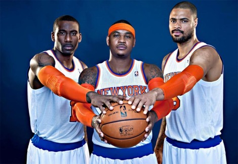 The Stoudemire, Anthony, Chandler project hasn't worked out so far.