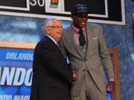 There are high expectations for rookie Victor Oladipo