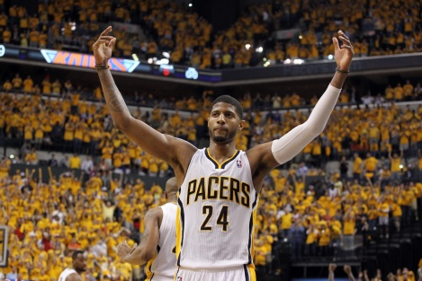 Paul George and the Pacers have their sights set on the NBA Finals.