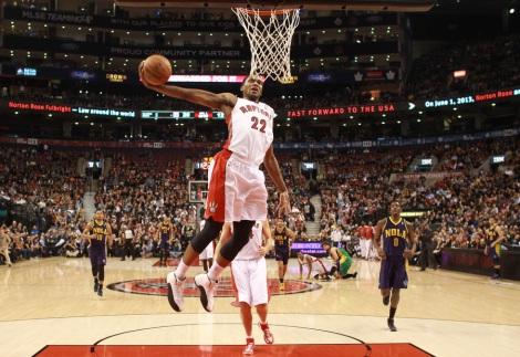 Will Rudy Gay last the entire year in Toronto?