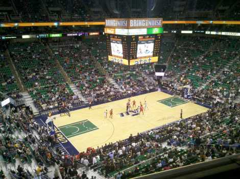 Energy Solutions Arena - Salt Lake City, Utah