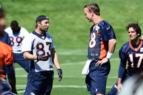 The Manning/Welker Duo has been a match made in heaven.