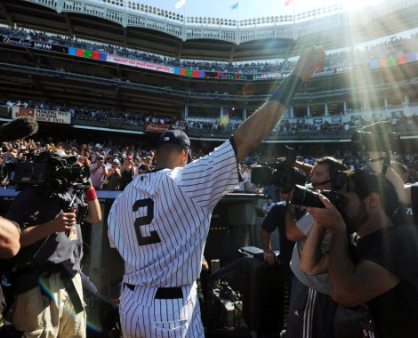2014 will be Derek Jeter's 20th and final season with the Yankees.