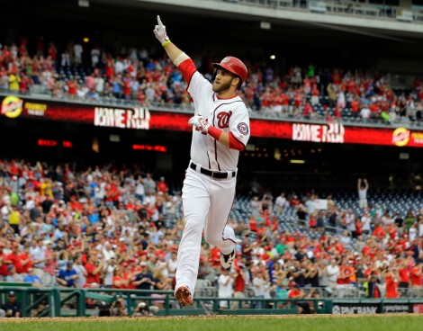 Bryce Harper and the Nationals look to rebound after a sub-par 2013 season.