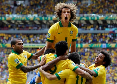 Brazil looks dominant as they head into the World Cup in their homeland.
